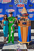 #18: Kyle Busch, Joe Gibbs Racing, Toyota Camry Interstate Batteries wide Samantha son Brexton