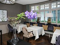 Gourmetrestaurant Ophelia, Hotel Riva, Seestr. 25, Konstanz, Baden-Württemberg, Deutschland, Europa<br /> Gourmetrestaurant Ophelia, Hotel Riva, Seestr. 25, Constance, Baden-Württemberg, Germany, Europe