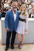 ERIN MORIARTY, MEL GIBSON - CANNES 2016 - PHOTOCALL DU FILM 'BLOOD FATHER'