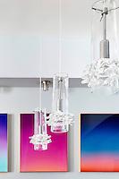 Pendant crystal lamps