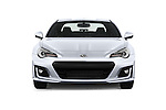 Car photography straight front view of a 2018 Subaru BRZ Limited 2 Door Coupe Front View