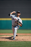 Detroit Tigers pitcher Wilkel Hernandez (63) during a Florida Instructional League intrasquad game on October 17, 2020 at Joker Marchant Stadium in Lakeland, Florida.  (Mike Janes/Four Seam Images)