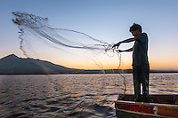 Fisherman, Granada, Nicaragua.
