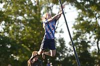 FIERLJEPPEN: 03-07-2019, IT HEIDENSKIP: 1e klas FLB Fierljeppen, ©foto Martin de Jong