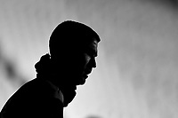 The silhouette of Cristiano Ronaldo of Juventus FC during the warm up prior to the Serie A football match between Juventus FC and Torino FC at Allianz stadium in Torino (Italy), December 5th, 2020. Photo Andrea Staccioli / Insidefoto