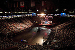 """Sunday, June 24, Raleigh, North Carolina..California evangelist Greg Laurie, brought his """"Harvest Crusade"""" to the RBC Center in Raleigh, NC for 3 days of music. prayer and Christian evangelism. Laurie brought together 200 local churches to sponsor the event which used 3000 volunteers and hopes to convert many newcomers to his version of born again Christianity."""