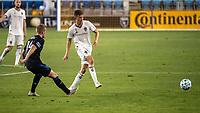 SAN JOSE, CA - SEPTEMBER 05: Cole Bassett #26 during a game between Colorado Rapids and San Jose Earthquakes at Earthquakes Stadium on September 05, 2020 in San Jose, California.