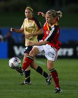 Tabea Kemme (GER)..FIFA U17 Women's World Cup, Semi Final, Germany v USA, QEII Stadium, Christchurch, New Zealand, Thursday 13 November 2008. Photo: Renee McKay/PHOTOSPORT