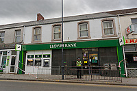 2018 11 20 Lloyds bank robbery in Gorseinon, Wales, UK
