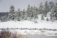 Snow, Utah roadside