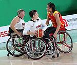 Katie Harnock, Rio 2016 - Wheelchair Basketball // Basketball en fauteuil roulant.<br /> Canada vs. China in women's Wheelchair Basketball  // Le Canada contre la Chine en  basketball en fauteuil roulant féminin . 16/09/2016.