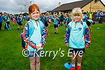 Enjoying their first day at the Kerry GAA Cúl Camps in Connelly Park on Monday morning, l to r: Ella Madden and Isabelle O'Leary.