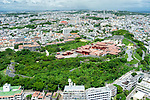 FILE PHOTO : An aerial view of the Shuri Castle (Shurijo) in Naha, Okinawa on August 22, 2019. <br /> <br /> A fire broke out at the World Heritage listed site during the early hours of October 31, 2019. (Photo by Wataru Kohayakawa/AFLO)