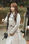 "Mi-Na (TWICE), Nov 16, 2018 : K-pop girl group TWICE attends the rehearsal of the KBS program ""Music Bank"" in Seoul, South Korea on November 16, 2018. (Photo by Pasya/AFLO)"
