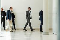 Bundesverkehrsminister Andreas Scheuer waehrend der Sitzung der CSU-Fraktion im Deutschen Bundestag.<br /> Nachdem es zwischen der CDU und der CSU zum Streit ueber den Umgang mit Fluechtlingen gab. Die Sitzung des Deutschen Bundestag wurde aufgrund dieses Streit auf Antrag der CDU/CSU-Fraktion fuer mehrere Stunden unterbrochen. Die Fraktionen von CDU und CSU tagten getrennt.<br /> 14.6.2018, Berlin<br /> Copyright: Christian-Ditsch.de<br /> [Inhaltsveraendernde Manipulation des Fotos nur nach ausdruecklicher Genehmigung des Fotografen. Vereinbarungen ueber Abtretung von Persoenlichkeitsrechten/Model Release der abgebildeten Person/Personen liegen nicht vor. NO MODEL RELEASE! Nur fuer Redaktionelle Zwecke. Don't publish without copyright Christian-Ditsch.de, Veroeffentlichung nur mit Fotografennennung, sowie gegen Honorar, MwSt. und Beleg. Konto: I N G - D i B a, IBAN DE58500105175400192269, BIC INGDDEFFXXX, Kontakt: post@christian-ditsch.de<br /> Bei der Bearbeitung der Dateiinformationen darf die Urheberkennzeichnung in den EXIF- und  IPTC-Daten nicht entfernt werden, diese sind in digitalen Medien nach ß95c UrhG rechtlich geschuetzt. Der Urhebervermerk wird gemaess ß13 UrhG verlangt.]