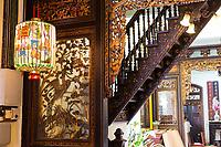 Baba Nyonya Heritage Museum, Interior Room, Melaka, Malaysia.