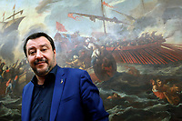 20190211 Matteo Salvini in Conferenza Stampa
