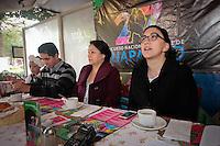 Querétaro, Qro. 23 DICIEMBRE  2015.- En rueda de prensa la presidente municipal de Pinal de Amoles. Gloria Rendón, presento el programa del Concurso Nacional de Baile de Huapango que se realizará el 11 y 12 de Marzo de 2016.<br /> <br /> Foto: Victor Pichardo / Obture Press Agency