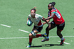 Mexico vs Kenya during the Day 2 of the IRB Women's Sevens Qualifier 2014 at the Skek Kip Mei Stadium on September 13, 2014 in Hong Kong, China. Photo by Aitor Alcalde / Power Sport Images