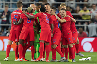 SAINT PAUL, MN - JUNE 18: USMNT during a 2019 CONCACAF Gold Cup group D match between the United States and Guyana on June 18, 2019 at Allianz Field in Saint Paul, Minnesota.