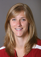STANFORD, CA - AUGUST 7:  Allison Falk of the Stanford Cardinal women's soccer team poses for a headshot on August 7, 2008 in Stanford, California.