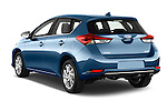 Car pictures of rear three quarter view of a 2015 Toyota Auris Dynamic 5 Door Hatchback Angular Rear