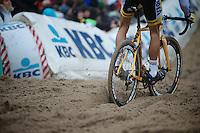 Superprestige Zonhoven 2013<br /> <br /> sand plowing