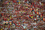 St Johnstone v Eskisehirspor....19.07.12  Uefa Cup Qualifyer.The wall of red Eskisehirspor fans in the Ataturk Stadium.Picture by Graeme Hart..Copyright Perthshire Picture Agency.Tel: 01738 623350  Mobile: 07990 594431