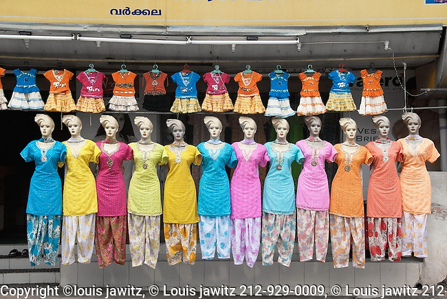 Varkala, town, store , dresses , india,