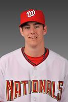 14 March 2008: ..Portrait of Ryan Buchter, Washington Nationals Minor League player at Spring Training Camp 2008..Mandatory Photo Credit: Ed Wolfstein Photo