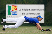23 September 2009: Pole Baseball Rouen, Bastien Dagneau