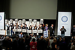 "On the opening day of the Copenhagen summit, TckTckTck - an unprecedented alliance of civil society organisations -delived its petition which more than 10 million people have signed, calling for world leaders to seal a fair, ambitious and binding climate deal at the talks...15 young people from around the world held large scale ""building blocks"" which spell out ""10 million people expect a fair, ambitious and binding deal"" to show world leaders that all the elements required for an effective climate treaty are present...Young people from around the world handed over the petition to UNFCCC Executive Secretary Yvo de Boer and Danish Climate Minister and the President of COP15 Connie Hedegaard. Leah Wickham, from Fiji, will spoke briefly on behalf of the 10 million people expecting a real deal at Copenhagen. Credit: Robert vanWaarden"