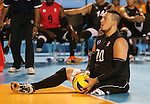 Toronto, Ontario, August 10, 2015. Canada vs Mexico mens sitting volleyball game at the  2015 Parapan Am Games . Photo Scott Grant/Canadian Paralympic Committee