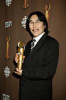 "Montreal (Qc) CANADA - March 29 2009 - Jutras award  Gala (for Quebec Cinema) : Natar Ungalaaq, Meilleur acteur (Best actor), Ce qu""il faut pour vivre (The Necessities of Life aka Inuujjutiksaq)"