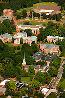 Aerial photography over Charlotte, NC, and the surrounding areas from May 2009. Photos by Charlotte photographer Patrick Schneider Photography. Photo of DavidsonCollege.
