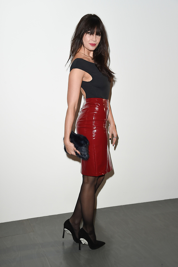 Daisy Lowe<br /> at the Eudon Choi SS18 Show as part of London Fashion Week, London<br /> <br /> <br /> ©Ash Knotek  D3308  15/09/2017