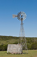 Windmill, Texas Hill Country