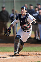 February 28, 2010:  Catcher Joe Pavone of the University of Connecticut Huskies during the Big East/Big 10 Challenge at Raymond Naimoli Complex in St. Petersburg, FL.  Photo By Mike Janes/Four Seam Images