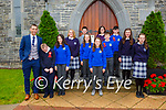 Past Pupils from Kilmurry NS who made their Confirmation in the Church of the Immaculate Conception Cordal on Saturday front row l-r: Teacher John Browne, Killian Horgan Lyons, Lauren O'Mahony, Sophie Horgan, Michelle Myers<br /> Middle row:<br /> Amanda Gleasure, Ruby Horgan, Fergal Enright, Caitlin Griffin<br /> Back row:<br /> Michael Lenihan, Robyn Smith, Shane O'Connell