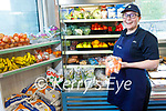 Aisling O'Connell at the fruit and veg stall in David Powers GALA shop in Abbeydorney