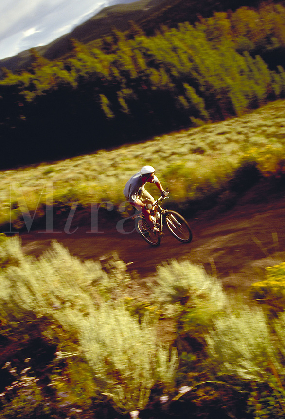 Brad O'Neil (MR40) mountain biking, Summit County, CO. Brad O'Neil (MR40). Summit County, Colorado.