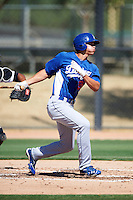 Los Angeles Dodgers minor league infielder Corey Seager #26 during an instructional league game against the Chicago White Sox at the Camelback Training Complex on October 9, 2012 in Glendale, Arizona. (Mike Janes/Four Seam Images)