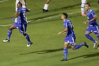Campinas (SP), 22/12/2020 - Ponte Preta - Cruzeiro - Manoel comemora gol do Cruzeiro.  Partida entre Ponte Preta e Cruzeiro valida pelo Campeonato Brasileiro da Serie B nesta terça-feira (22) no estádio Moises Lucarelli em Campinas, interior de São Paulo.