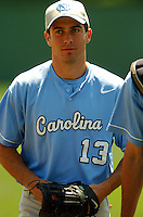 North Carolina Tar Heels' 1B-OF Dustin Ackley in action vs. Boston College at Shea Field, May 16, 2009 in Chestnut Hill, MA (Photo by Ken Babbitt/Four Seam Images)