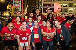 Pre-Race and Warm-Up of Bloomberg Square Mile Relay along Edinburgh Place in the city's central district on 10 November 2016 in Hong Kong, China. Photo by Lucas Schifres / Power Sport Images