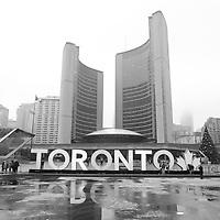City Hall , Toronto, Canada<br /> <br /> COPYRIGHT : Pierre Roussel - Roussel Fine Art Photo
