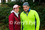 Enjoying a stroll in Killarney National park on Sunday, l to r: Katie Dineen and Joey O'Sullivan.