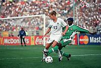 Soldier Field, Chicago IL - June 24, 1999; FIFA Women's World Cup 1999. USA 7 - Nigeria 1.