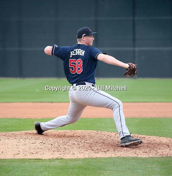 Tim Herrin - Cleveland Indians 2020 spring training (Bill Mitchell)