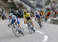 31st August 2020, Nice to Sisteron, France; Tour de France cycling tour, stage 3;   DEVENYNS Dries (BEL) of DECEUNINCK - QUICK - STEP, ALAPHILIPPE Julian (FRA) of DECEUNINCK - QUICK - STEP